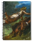 Hesiod And The Muse Spiral Notebook
