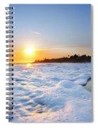 Hesler Sunset Spiral Notebook