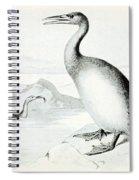 Hesperornis Regalis, Flightless Bird Spiral Notebook