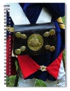 Hessian Cartridge Box Spiral Notebook