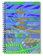 Hexagram 18-ku Spiral Notebook