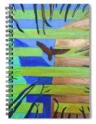 Hexagram-57-xun-penetrating-wind- Spiral Notebook