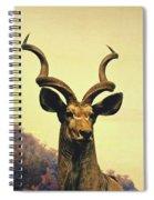 Hi, I Am Kudu Spiral Notebook