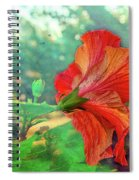Hibiscus Flame Spiral Notebook