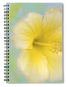 Hibiscus In The Clouds Spiral Notebook