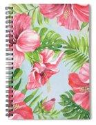 Hibiscus Paradise-jp3965 Spiral Notebook