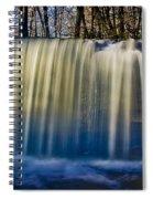 Hidden Falls Morning Glow Spiral Notebook