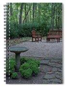 Hidden Garden Spiral Notebook