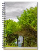 Hidden Gate II Spiral Notebook
