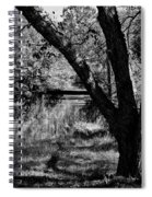 Hidden History Black And White Spiral Notebook