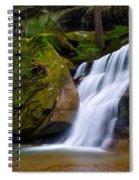 Hidden Hocking Hills Waterfall Ohio Spiral Notebook