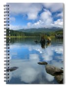 Hidden In Fleece Spiral Notebook
