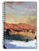 Hidden Lake Western United States Spiral Notebook