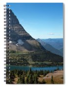 Hidden Lake - Glacier National Park Spiral Notebook