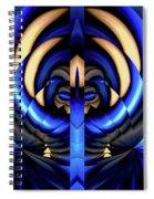 Hidden Monkeys Spiral Notebook