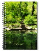 Hidden Pond At Schuylkill Valley Nature Center Spiral Notebook