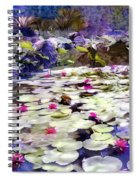 Hidden Pond Lotusland Spiral Notebook