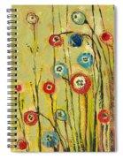 Hidden Poppies Spiral Notebook