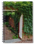 Hidden Sanctuary Spiral Notebook