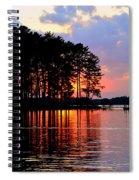 Hidden Sunrise Spiral Notebook