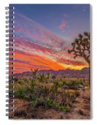 Hidden Valley Sunset Spiral Notebook