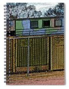 Hiding The Trucks Spiral Notebook