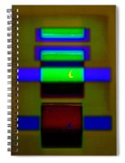 Hieroglyphic Spiral Notebook