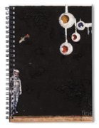 High Above Him There Spiral Notebook