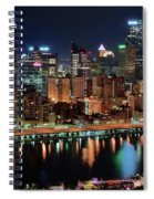 High Above Pittsburgh Spiral Notebook