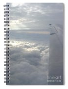 High Above The Clouds Spiral Notebook