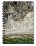 High Above The Coast Spiral Notebook