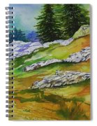 High Country Boulders Spiral Notebook