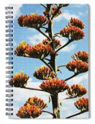 High Country Red Bud Agave Spiral Notebook
