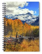 High County Ablaze Spiral Notebook