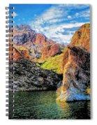 High Desert Lake Spiral Notebook