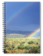 High Dessert Rainbow Spiral Notebook