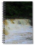 High Falls Of Cheat 13 Spiral Notebook
