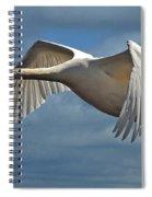 High Flying Spiral Notebook