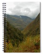 High In The Mountains Of The Intag Spiral Notebook