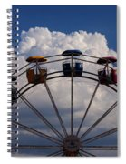 High In The Sky Spiral Notebook