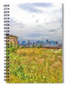 High Line On The Hudson Spiral Notebook