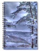 High Mountain Fence Spiral Notebook