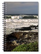 High Ocean Surf Spiral Notebook