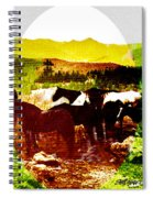 High Plains Horses Spiral Notebook