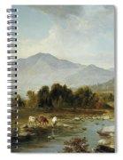 High Point  Shandaken Mountains, 1853 Spiral Notebook