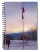 High Point State Park At Sunset Spiral Notebook