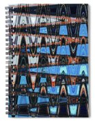 High Rise Construction Abstract # 4 Spiral Notebook