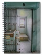 High Risk Solitary Confinement Cell In Prison Spiral Notebook