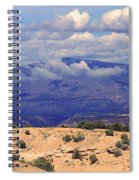 High Road To Taos Panorama Spiral Notebook