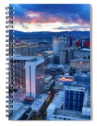 High Roller Sunset Spiral Notebook